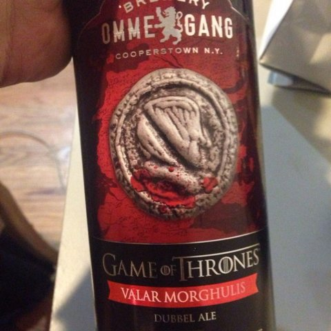 HBO and Ommegang's latest Game of Thrones-inspired beer.